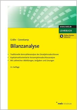 Bilanzanalyse von Gerenkamp,  Thorsten, Gräfer,  Horst