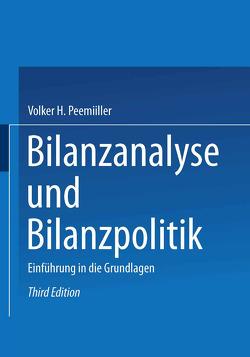 Bilanzanalyse und Bilanzpolitik von Peemöller,  Volker H.