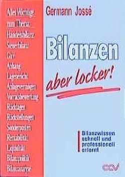Bilanzen – aber locker! von Jossé,  Germann