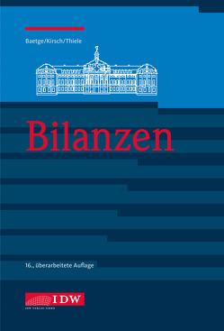 Bilanzen von Baetge,  Jörg, Kirsch,  Hans-Jürgen, Thiele,  Stefan