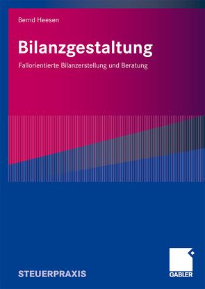 Bilanzgestaltung von Heesen,  Bernd