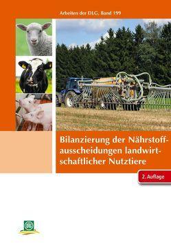 Bilanzierung der Nährstoffausscheidungen landwirtschaftlicher Nutztiere von DLG e.V.
