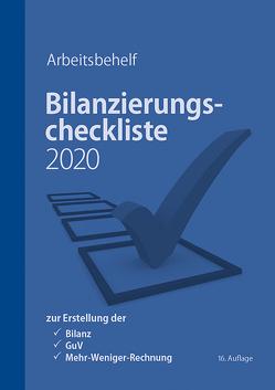 Bilanzierungscheckliste 2020 von Brein,  Markus, Denk,  Christoph