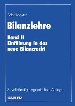 Bilanzlehre von Moxter,  Adolf