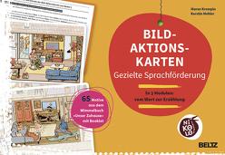 Bild-Aktionskarten – Gezielte Sprachförderung von Krempin,  Maren, Mehler,  Kerstin
