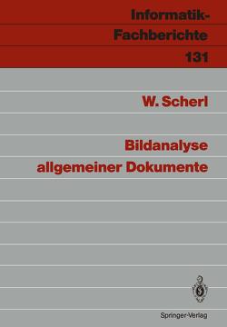 Bildanalyse allgemeiner Dokumente von Scherl,  Wolfgang