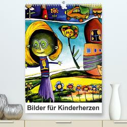 Bilder für Kinderherzen (Premium, hochwertiger DIN A2 Wandkalender 2021, Kunstdruck in Hochglanz) von Scheffler,  Gertrud