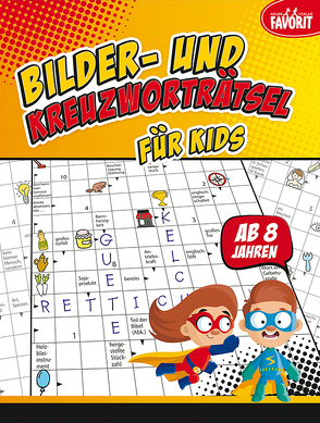 Bilder- und Kreuzworträtsel für Kids