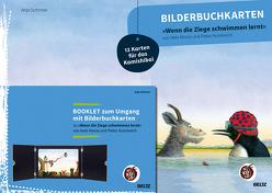 Bilderbuchkarten »Wenn die Ziege schwimmen lernt« von Neele Moost und Pieter Kunstreich von Schirmer,  Anja