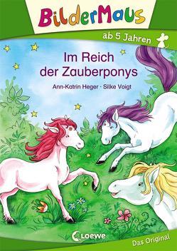 Bildermaus – Im Reich der Zauberponys von Heger,  Ann-Katrin, Voigt,  Silke