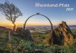 Bildkalender Rheinland-Pfalz 2021 A3 quer Spiralbindung von Klaes,  Holger