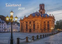 Bildkalender Saarland 2020 A3 quer Spiralbindung von Klaes,  Holger
