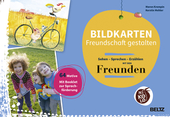 Bildkarten Freundschaft gestalten von Krempin,  Maren, Mehler,  Kerstin