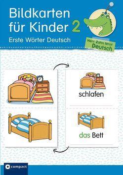 Bildkarten für Kinder 2 – Erste Wörter Deutsch von Kaufmann,  Astrid