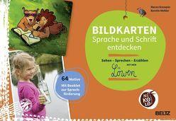 Bildkarten Sprache und Schrift entdecken von Krempin,  Maren, Mehler,  Kerstin
