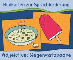 Bildkarten zur Sprachförderung: Gegensatzpaare. Neuauflage von Verlag an der Ruhr,  Redaktionsteam