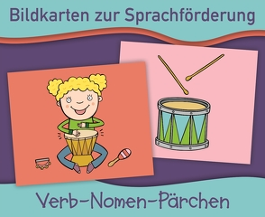 Bildkarten zur Sprachförderung: Verb-Nomen-Pärchen von Verlag an der Ruhr,  Redaktionsteam
