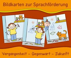 Bildkarten zur Sprachförderung: Vergangenheit – Gegenwart – Zukunft – Neuauflage von Verlag an der Ruhr,  Redaktionsteam