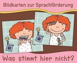 Bildkarten zur Sprachförderung: Was stimmt hier nicht? – Neuauflage von Boretzki,  Anja, Verlag an der Ruhr,  Redaktionsteam