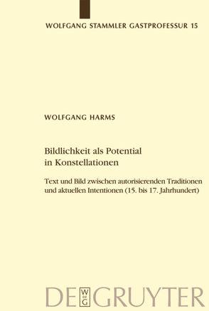 Bildlichkeit als Potential in Konstellationen von Harms,  Wolfgang