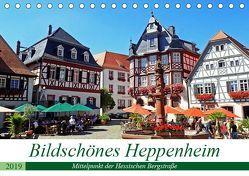Bildschönes Heppenheim Mittelpunkt der Hessischen Bergstraße (Tischkalender 2019 DIN A5 quer) von Andersen,  Ilona