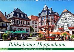 Bildschönes Heppenheim Mittelpunkt der Hessischen Bergstraße (Wandkalender 2019 DIN A2 quer) von Andersen,  Ilona