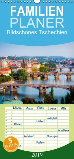 Bildschönes Tschechien – Familienplaner hoch (Wandkalender 2019 , 21 cm x 45 cm, hoch) von CALVENDO