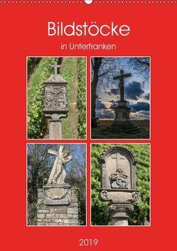 Bildstöcke in Unterfranken (Wandkalender 2019 DIN A2 hoch) von Will,  Hans