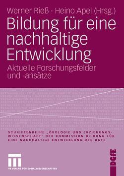 Bildung für eine nachhaltige Entwicklung von Apel,  Heino, Rieß,  Werner