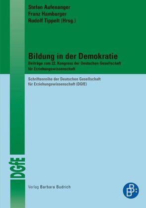 Bildung in der Demokratie von Aufenanger,  Stefan, Hamburger,  Franz, Ludwig,  Luise, Tippelt,  Rudolf