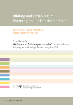 Bildung und Erziehung im Kontext globaler Transformationen von Clemens,  Iris, Hornberg,  Sabine, Rieckmann,  Marco