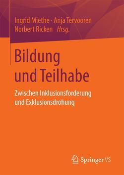 Bildung und Teilhabe von Miethe,  Ingrid, Ricken,  Norbert, Tervooren,  Anja