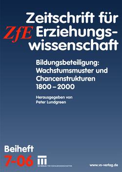 Bildungsbeteiligung: Wachstumsmuster und Chancenstrukturen 1800 – 2000 von Lundgreen,  Peter