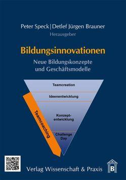 Bildungsinnovationen von Brauner,  Detlef Jürgen, Speck,  Peter