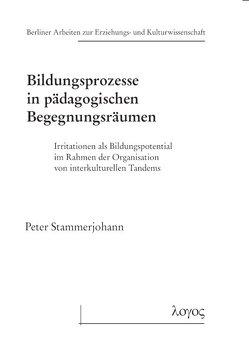 Bildungsprozesse in pädagogischen Begegnungsräumen von Stammerjohann,  Peter