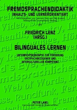 Bilinguales Lernen von Lenz,  Friedrich