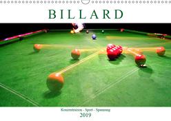 Billard. Konzentration – Sport – Spannung (Wandkalender 2019 DIN A3 quer) von Robert,  Boris