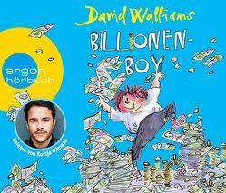 Billionen-Boy von Haentjes,  Dorothee, Ullmann,  Kostja, Walliams,  David