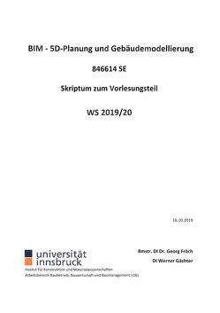 BIM – 5D Planung und Gebäudemodellierung von Förch,  Georg, Gächter,  Werner
