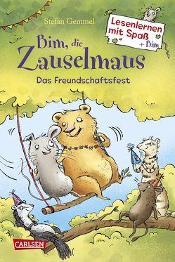 Bim, die Zauselmaus: Das Freundschaftsfest (Lesenlernen mit Spaß + Bim 2) von Bruder,  Elli, Gemmel,  Stefan