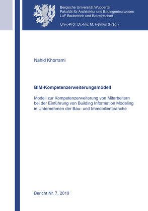 BIM-Kompetenzerweiterungsmodell von Khorrami,  Nahid