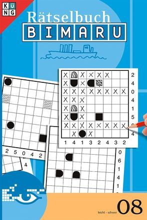 Bimaru Rätselbuch 08 (Schiffe versenken)