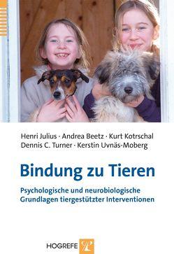 Bindung zu Tieren von Beetz,  Andrea, Julius,  Henri, Kotrschal,  Kurt, Turner,  Dennis C, Uvnäs Moberg,  Kerstin