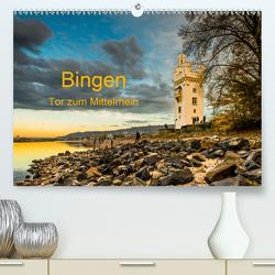 Bingen – Tor zum Mittelrhein (Premium, hochwertiger DIN A2 Wandkalender 2020, Kunstdruck in Hochglanz) von Hess,  Erhard