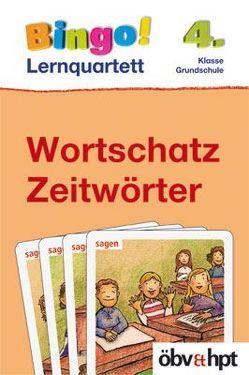Bingo!-Lernquartett Wortschatz/Zeitwörter 4. Kl. von Kratzer,  Elena