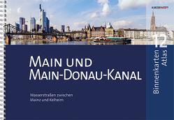 BinnenKarten Atlas 12 | Main und Main-Donau-Kanal