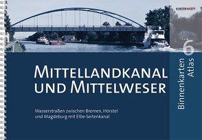 BinnenKarten Atlas 6 | Mittellandkanal und Mittelweser