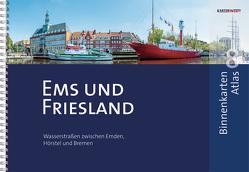 BinnenKarten Atlas 8 | Ems und Friesland