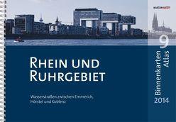 BinnenKarten Atlas 9 | Rhein und Ruhrgebiet