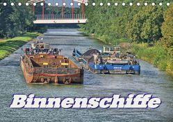 Binnenschiffe (Tischkalender 2019 DIN A5 quer) von Morgenroth (petmo),  Peter